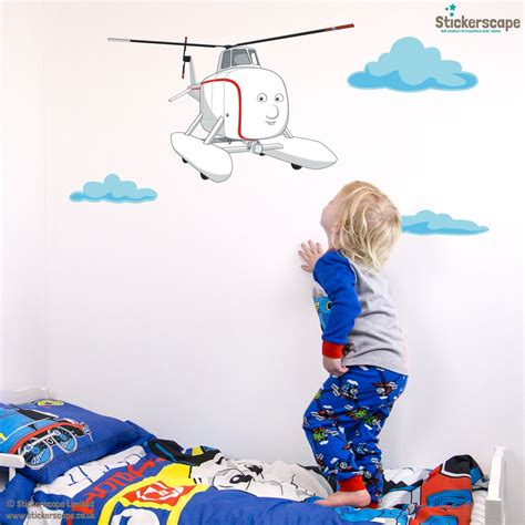 helicopter wall stickers harold the helicopter wall sticker friends