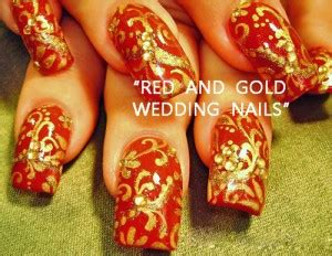 neat concerbative nails 17 cool nail art designs for the indian bride