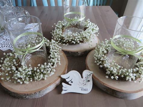 baptism centerpieces for tables blake s baptism lola s key