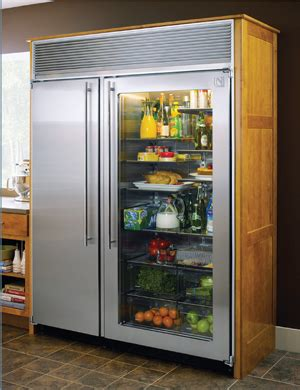 Glass Front Refrigerator For Home by Northland 60 Refrigerator Kitchen Studio Of Naples Inc