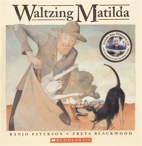 booktopia waltzing matilda book and audio cd by a b