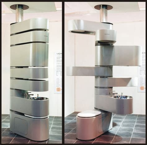 vertebrae puts your bathroom fixtures in a space saving