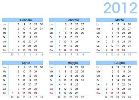 calendario con settimane calendario 2012 con santi festivit 224 e fasi lunari