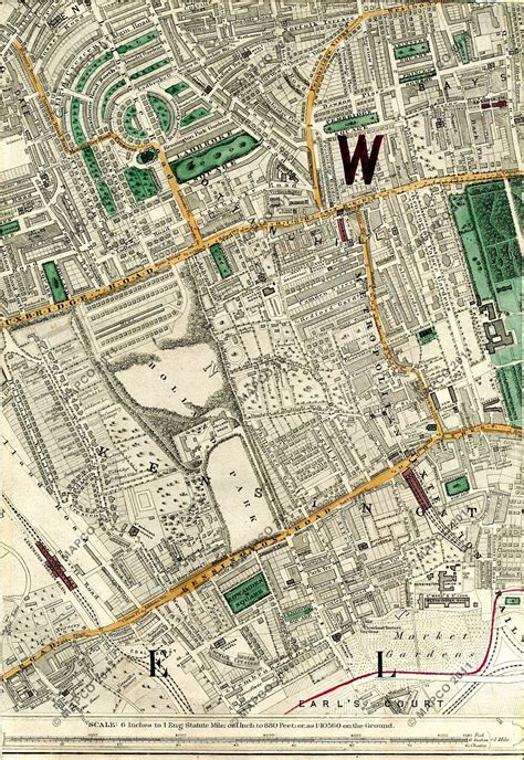 Metropolitan Home stanfords library map of london and its suburbs 1872