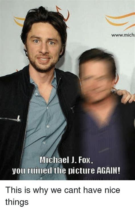 Michael J Fox Meme - wwwmicha michael j fox you ruined the picture again this