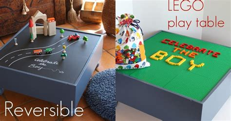 diy reversible lego table piccoli piselli reversible lego playtable