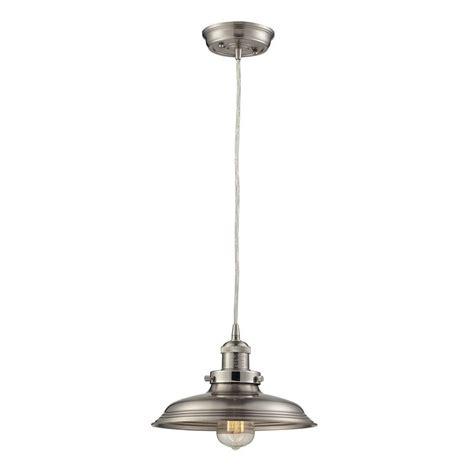 nickel pendant lights titan lighting port lincoln collection 1 light satin