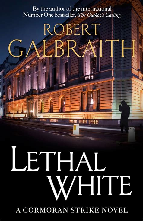 strike books fanmade cover for lethal white by robert galbraith