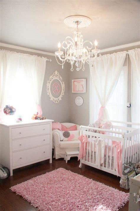 babyzimmer grau rosa wandfarbe hellgrau gardinen rosa babyzimmer wohnen