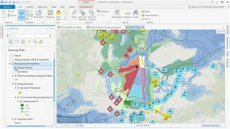 arcgis map layout landscape arcgis pro and the arctic youtube