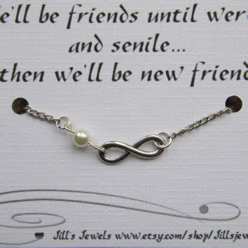friendship infinity quotes best friend infinity charm bracelet from