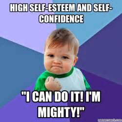 High Kid Meme - high self esteem and self confidence