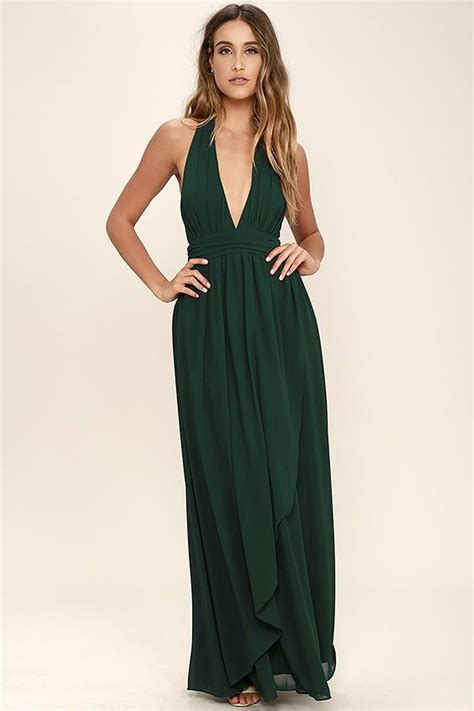 Ll Halter Veve Green best 25 halter maxi dresses ideas on vestido con escote halter casual s maxi