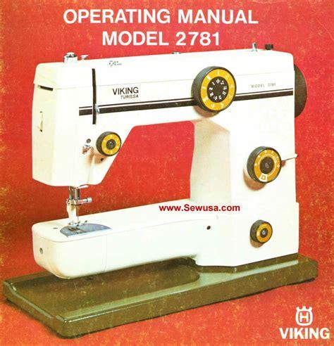 Viking 2781 Instruction Manual