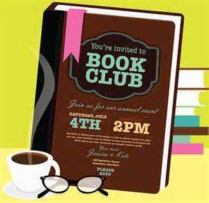 Book Club Invitation Template by Reading Glasses Vector And Graphics Getty Images