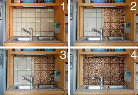 kitchen your kitchen look awesome by using peel and stick