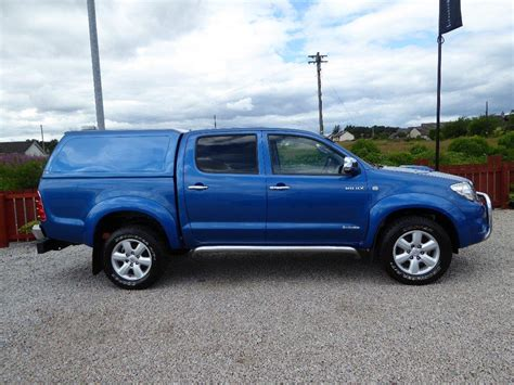 Used Toyota Hilux Scotland Used 2011 Toyota Hilux 3 0 D 4d Invincible Crewcab
