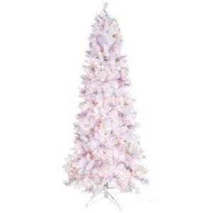7 5 fast shape white alaska pine tree with lights hobby
