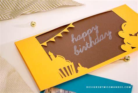 groupon printable envelope birthday envelope free svg cut file designs by miss mandee