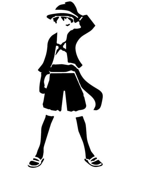 Stiker Anime One one monkey d luffy anime decal kyokovinyl
