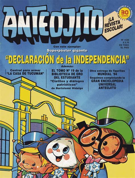 billiken 9 de julio las portadas de revista anteojito revistas anteojito