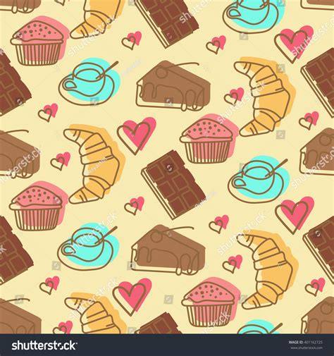 2 color pattern vector sweet color pattern 2 stock vector 401162725 shutterstock