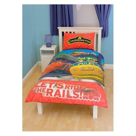 Chuggington Bedding by Chuggington Traintastic Single Bedding Duvet Quilt