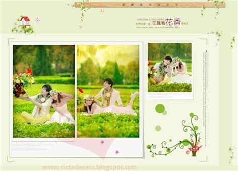membuat album kolase gratis download template album kolase floral format psd
