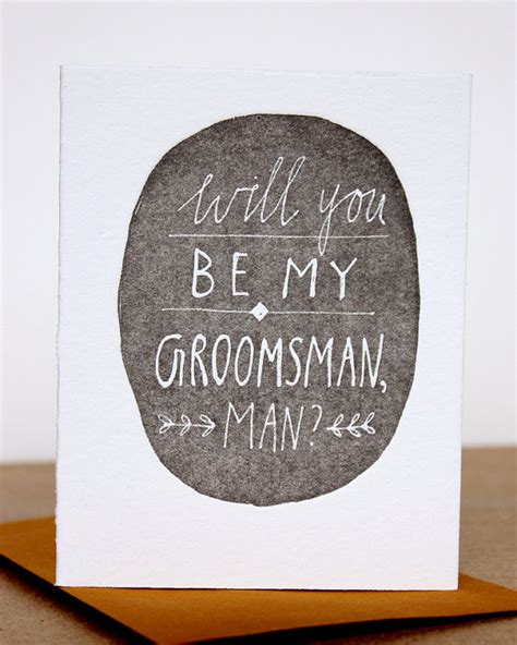 Getting Creative With Credit Advice by 6 Creative Ways To Ask Your To Be Your Groomsmen