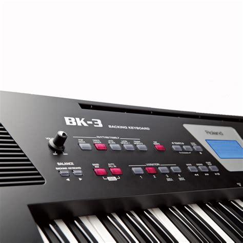 roland bk  compact backing keyboard black  gearmusiccom