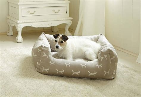 stylish dog beds luxury stylish dog bolster bed in taupe by the stylish dog