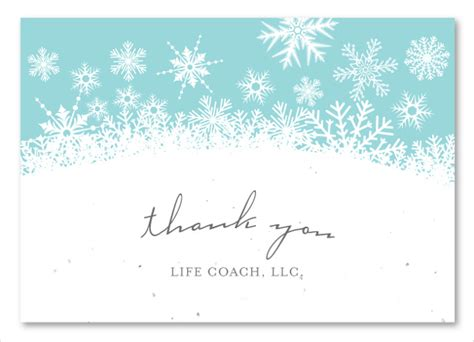 thank you cards business template 7 business thank you cards free sle exle format