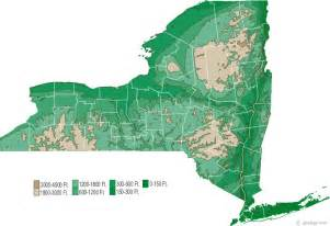 New York Topographic Map by New York Foster Family Research How To Do It
