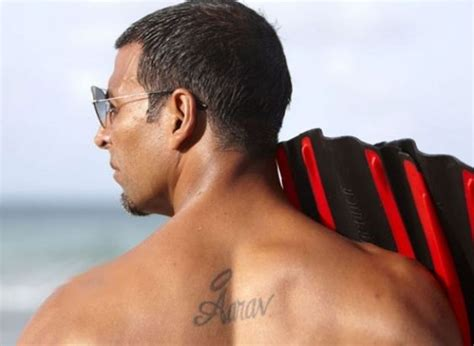 tattoo actor ideas for back showing by actor
