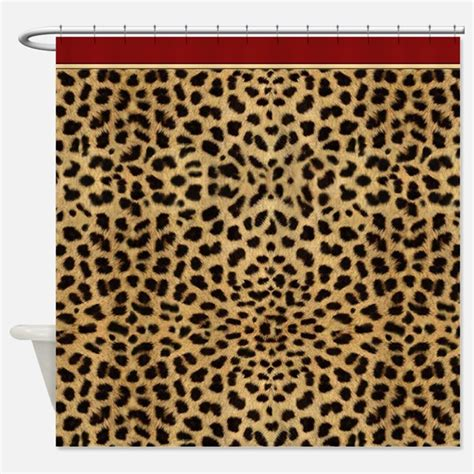 Animal Print Shower Curtains Cheetah Print Shower Curtains Cheetah Print Fabric Shower Curtain Liner