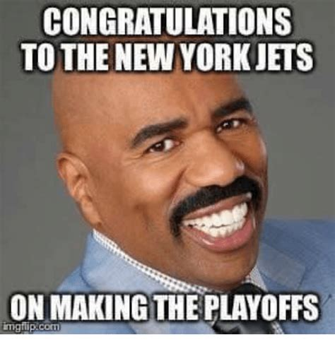 Meme New York - congratulations to the new york jets on making the