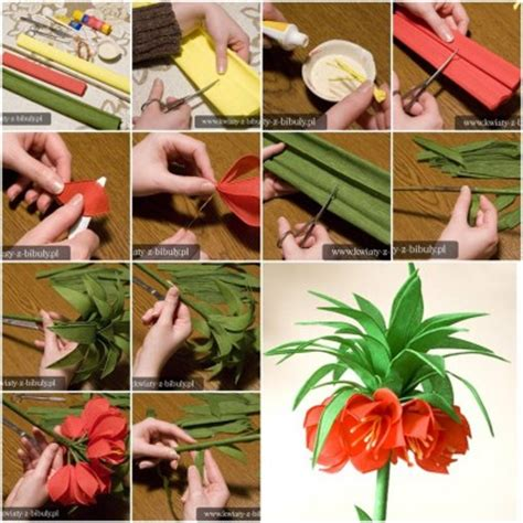 Show Me How To Make Paper Flowers - how to make pretty crepe paper flower step by step diy