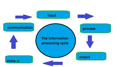 data processing cycle diagram the information processing cycle techno frequency