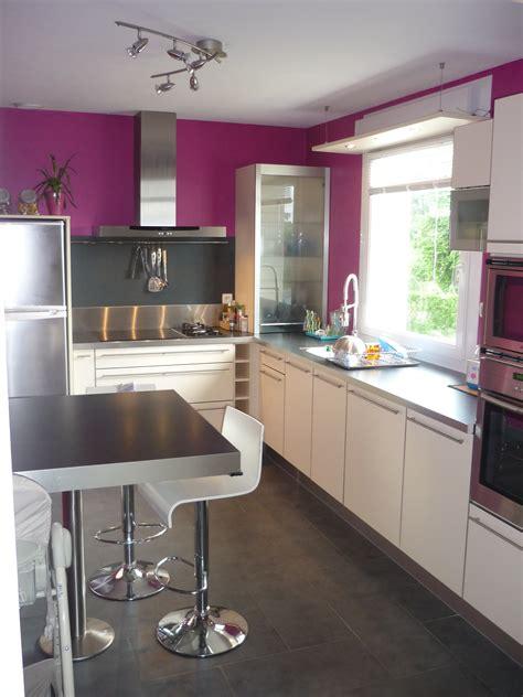 peinture dans une cuisine decoration peinture cuisine moderne