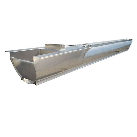 custom 27ft x 25 quot center pontoon boat transom engine fuel - Pontoon Boat Fuel Tanks