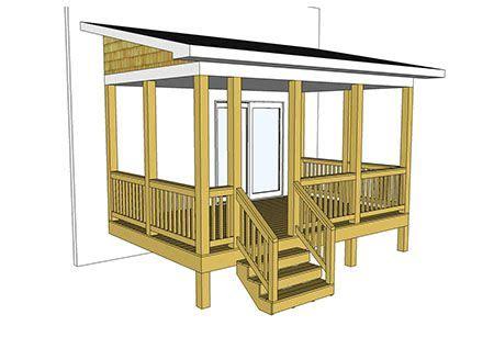 porch blueprints decks com free plans