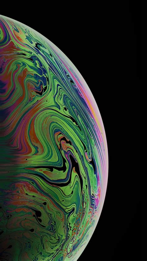 wallpaper iphone xs space gray 4k os 20374