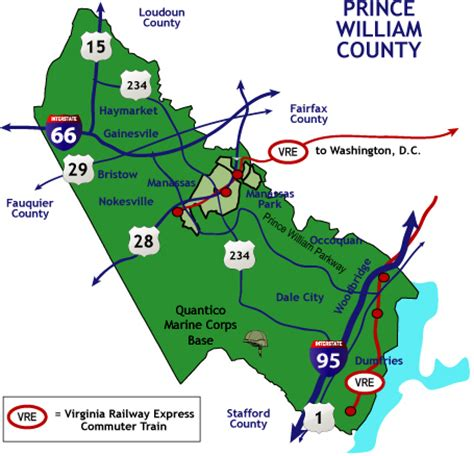 Prince William County Search Prince William County Real Estate Map