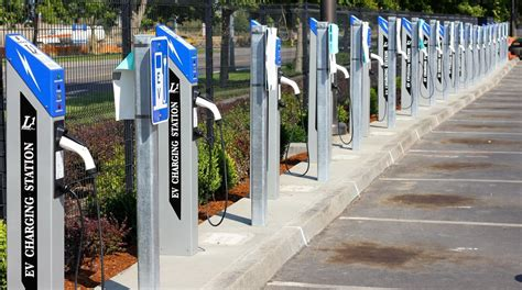 electric vehicles charging stations portland international airport adds 42 charging spots