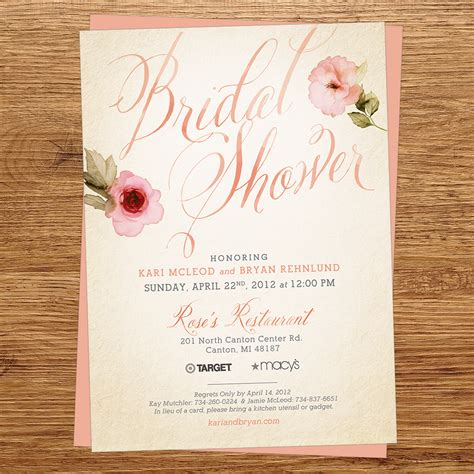 bridal shower invitations bridal shower invites cheap bridal shower invitations