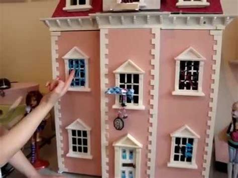 how to make a monster high doll house claudia s make your own monster high dolls house youtube