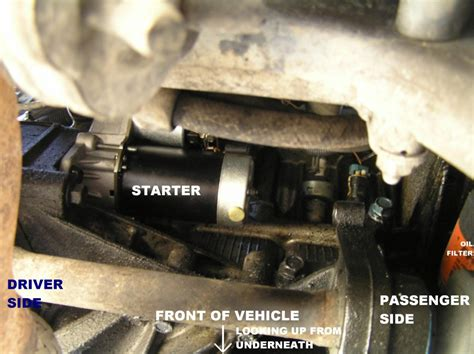 2000 saturn starter where is the starter located on a 1999 saturn sc1 wiring