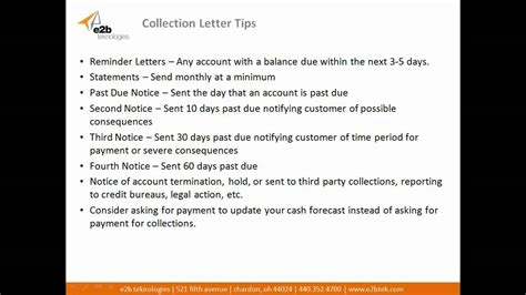 Credit Policy Letter To Customer How To Create Effective Collection Letter Templates And Business Credit Policy Documents