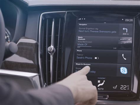 volvo on call pincode volvo becomes the manufacturer to integrate skype in