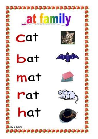 at pattern words free worksheets 187 word pattern worksheets free math